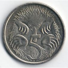 5 центов 2009 Австралия - 5 cents 2009 Australia