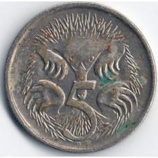 5 центов 1992 Австралия - 5 cents 1992 Australia