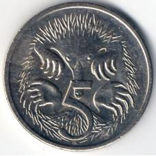 5 центов 2006 Австралия - 5 cents 2006 Australia