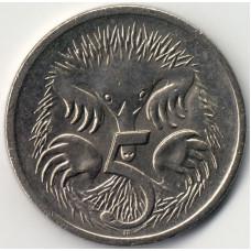5 центов 2001 Австралия - 5 cents 2001 Australia