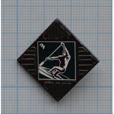Значок Спортлото, гребля, СССР