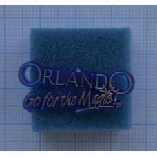"Значок ""Orlando, go for the magic!"""