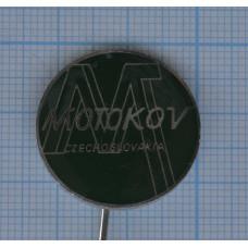 """Значок """"Motokov, Czechoslovakia"""" №1"""