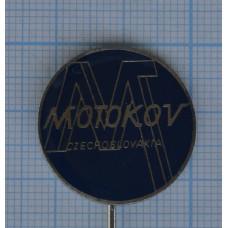 """Значок """"Motokov, Czechoslovakia"""" №2"""