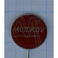 """Значок """"Motokov, Czechoslovakia"""" №3"""