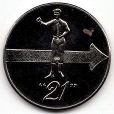 """Жетон - Клуб """"21"""" Нью-Йорк, США"""