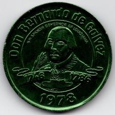 Жетон - New Orleans fabulous. Top of the mart. Don Bernando de Galvez. Новый Орлеан, Бернардо де Гальвес, 1746-1786. США 1978