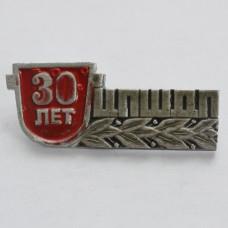 Значок - ЦПШДП 30 лет