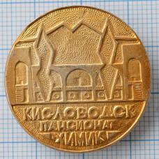 Значок - город Кисловодск, пансионат Химик