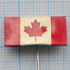 """Значок - флаг """"Канада"""""""