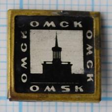 """Значок серии """"Город Омск"""""""