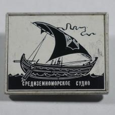 Значок Средиземноморское судно