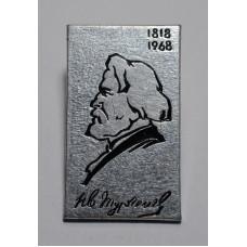 """Серия """"Писатели"""" - И. С. Тургенев, 150 лет со дня рождения, 1818-1968"""