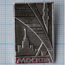 """Значок серии """"Город Москва"""""""
