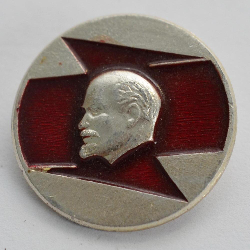 Нагрудный знак В.И. Ленин смотрит вправо 6
