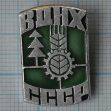 Значок - ВДНХ, СССР