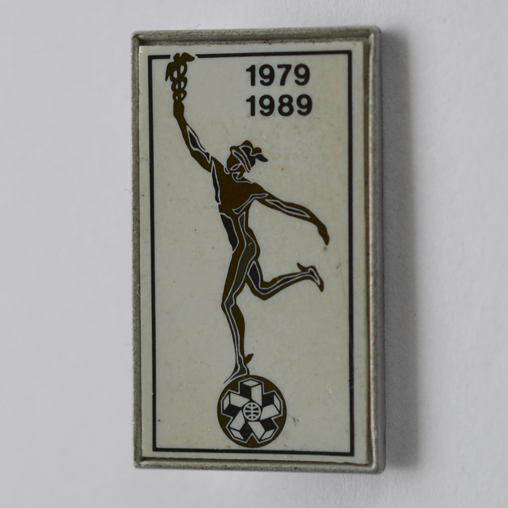 Значок Гермес, 1979-1989