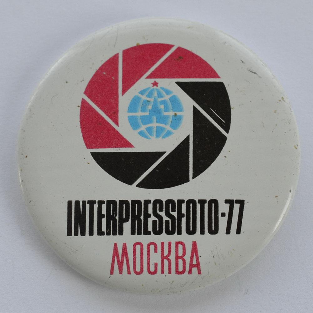 Значок Interpressfoto-77, Москва