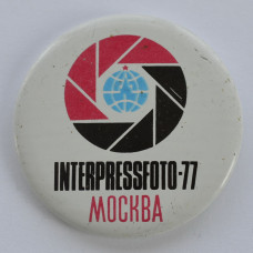 Значок Interpressfoto-77, Москва
