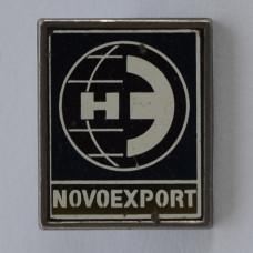 Значок Новоэкспорт. Novoexport