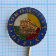Значок - Локомотив, Пльзень