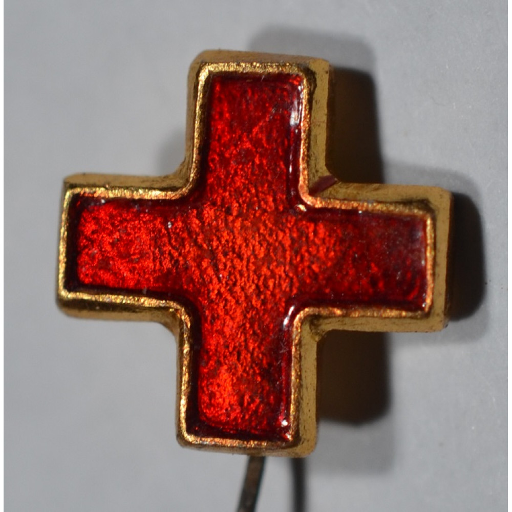 Медицинский значок Красный крест