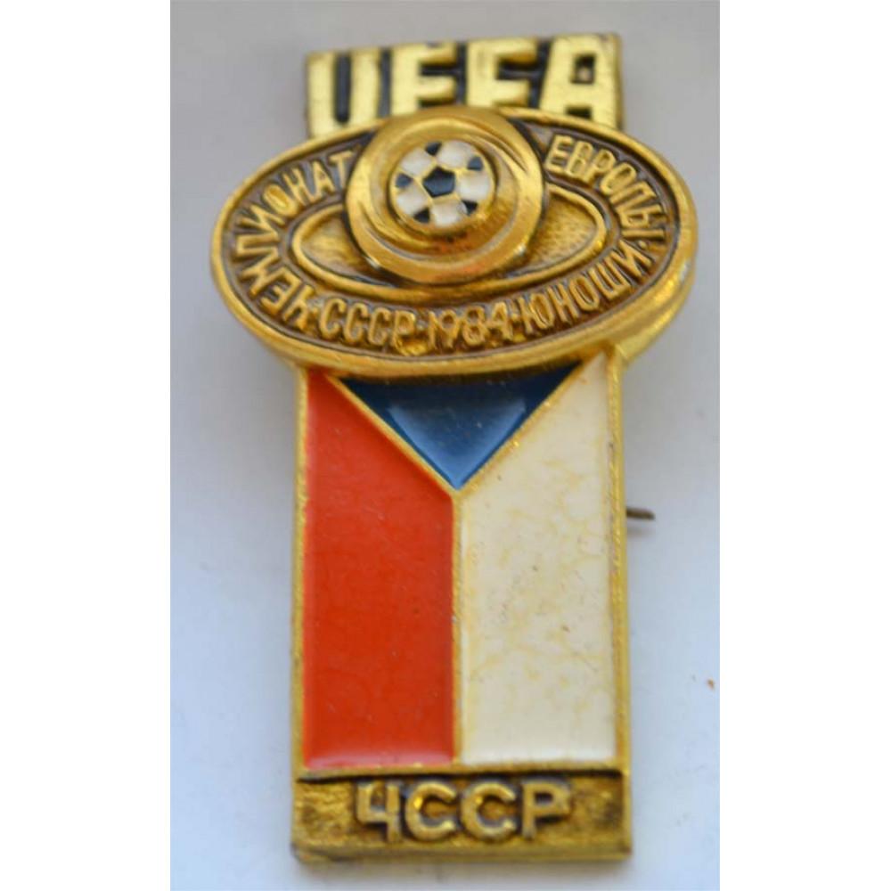 """Серия """"Футбол"""", UEFA Чемпионат Европы Юноши 1984"""", СССР - ЧССР"""