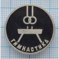 Значок  Гимнастика, Спорт, СССР