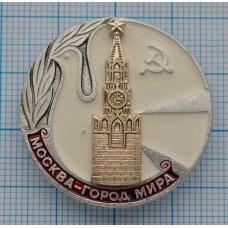 Значок Москва-Город Мира