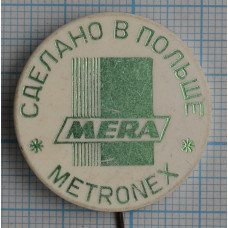 Значок Метронекс, Metronex, Сделано в Польше