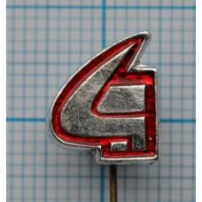 Значок - Серп и молот. СССР
