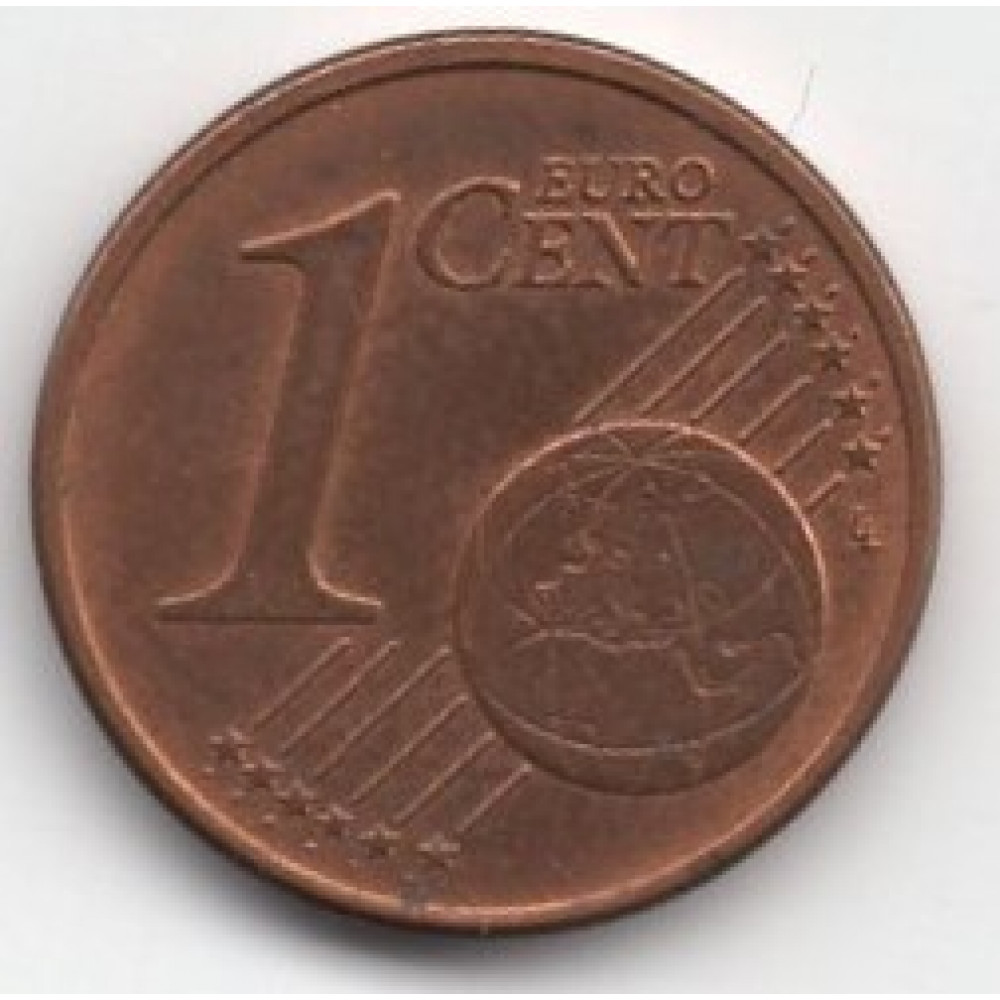 1 евроцент 2004 Германия - 1 euro cent 2004 Germany, D
