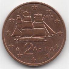 2 евроцента 2015 Греция - 2 euro cent 2015 Greece