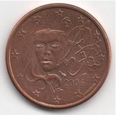 5 евроцентов 2006 года Франция - 5 euro cents 2006 France, из оборота