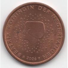 5 евроцентов 2006 года Нидерланды - 5 euro cents 2006 Netherlands, из оборота