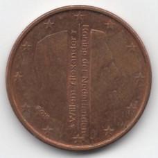 5 евроцентов 2066 года Нидерланды - 5 euro cents 2016 Netherlands, из оборота