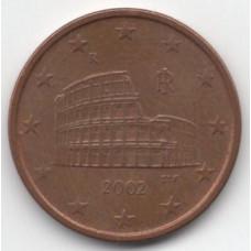 5 евроцентов 2002 Италия - 5 euro cent 2002 Italy, из оборота