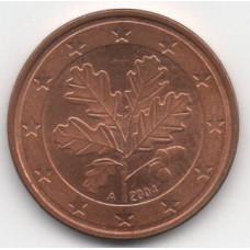 5 евроцентов 2004 Германия - 5 euro cent 2004 Germany, А, из оборота