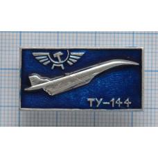 """Значок - серия """"Аэрофлот - 1"""" ТУ-144"""