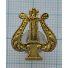 Значок петличная эмблема ВОЕННО-ОРКЕСТРОВАЯ СЛУЖБА ВС