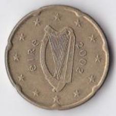 20 евроцентов 2002 года Ирландия - 20 euro cent 2002 Ireland