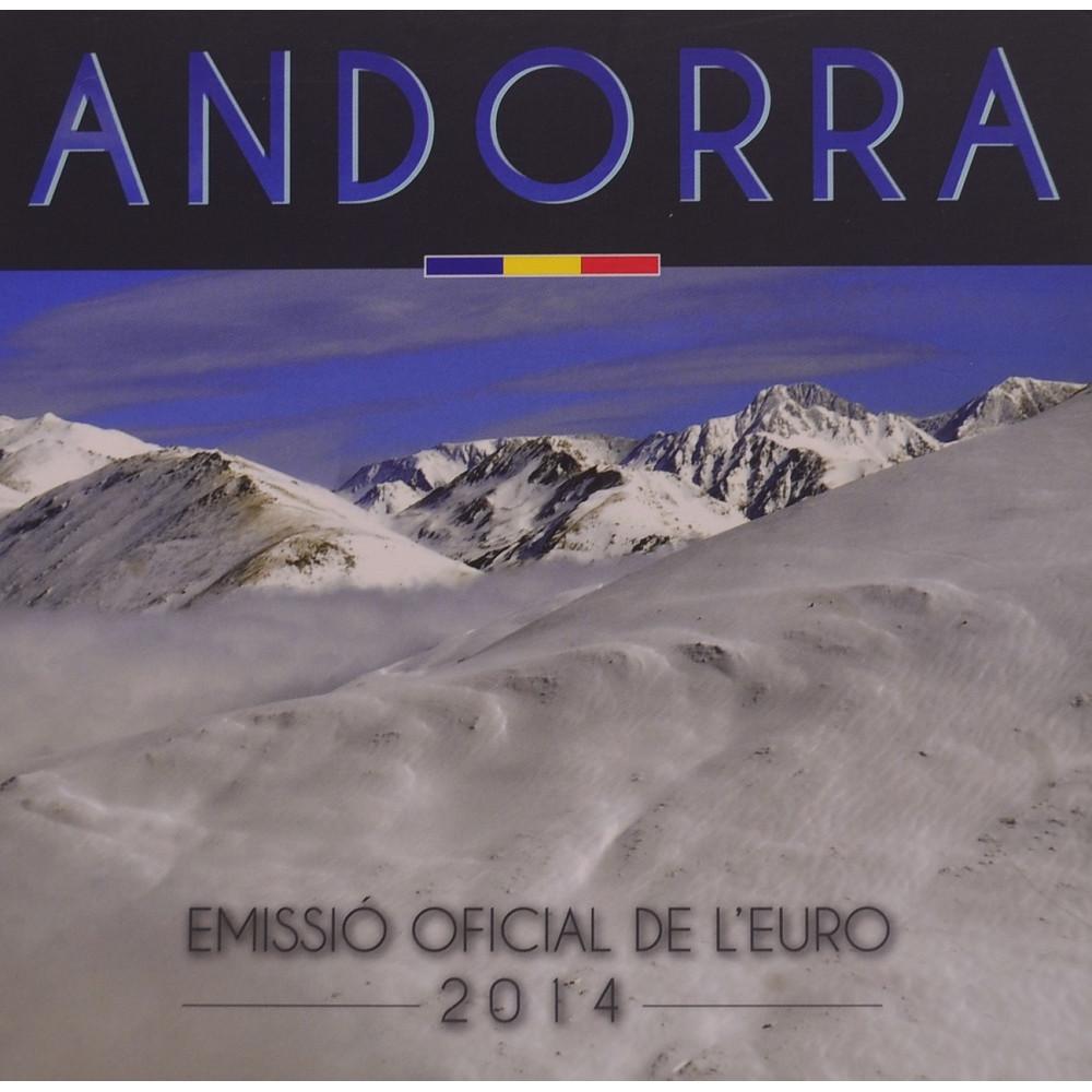 Андорра 2014 год Годовой набор Евро монет