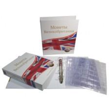 Альбом для монет Великобритании с 10 листами