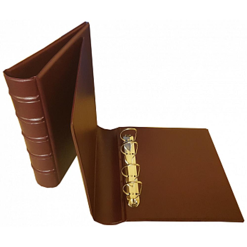 "Альбом для банкнот ""СТАНДАРТ-Бордо"" без листов. Стандарт OPTIMA. БЕЗ ШУБЕРА. Размер 230Х270 мм."