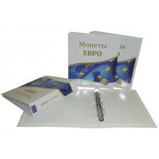 """Альбом для монет """"Евро"""" с 10 листами"""
