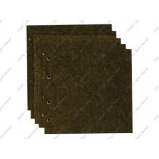 Комплект для Горизонтального альбома под значки, ткань. Размер 230Х210 мм.