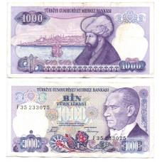1000 лира 1988 Турция - 1000 lira 1988 Turkey