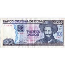 20 Песо 2013 Куба - 20 Pesos 2013 Cuba