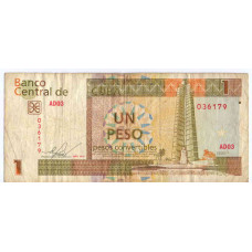 Un Peso 2011 Cuba - 1 Песо 2011 Куба