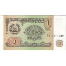 1 рубль 1994 Таджикистан